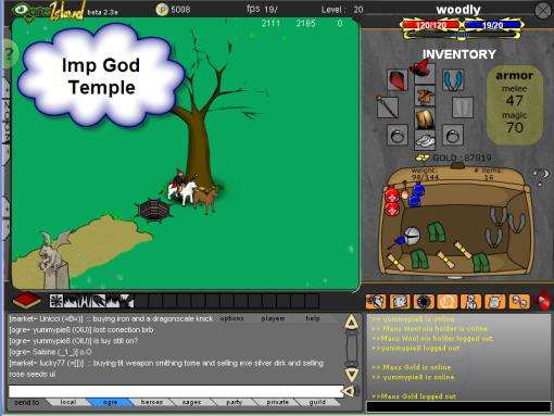 Imp God Temple