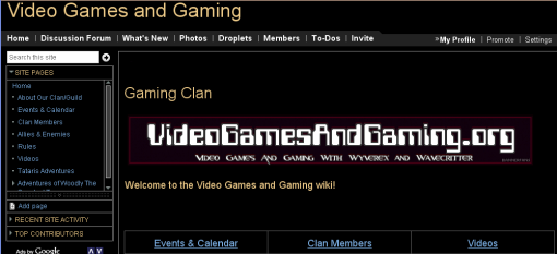 Video Games and Gaming Dot Org