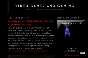 Video Games and Gaming Dot Com